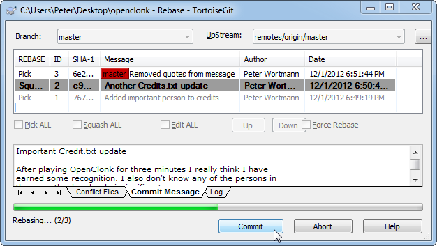 Git Workflow - OpenClonk